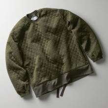 CURLY / カーリー | SWITCHING QUILT SWEAT