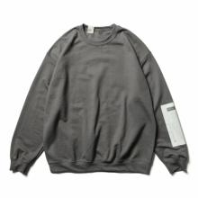 N.HOOLYWOOD / エヌハリウッド | 9212-CS85-pieces CREW NECK SWEATSHIRT - Charcoal