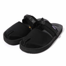 NEPENTHES / ネペンテス | Suicoke × NEPENTHES Purple Label - Split Toe Sandal w/A-B Vibram - Black