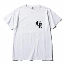 GOODENOUGH / グッドイナフ | S/S TEE - FELT WAPPEN - White / Black