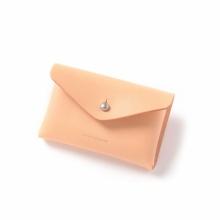 Hender Scheme / エンダースキーマ | one piece card case - Natural