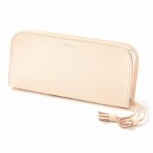 Hender Scheme / エンダースキーマ | zip pen case - Natural × White