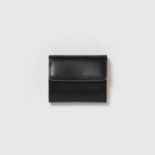 Hender Scheme / エンダースキーマ | bellows wallet - Black