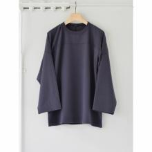 COMOLI / コモリ | フットボール Tシャツ - Fade Navy