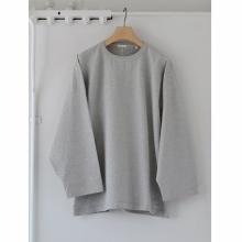 COMOLI / コモリ | フットボール Tシャツ - Heather Gray
