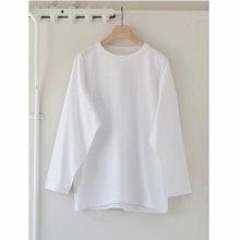 COMOLI / コモリ | フットボール Tシャツ - White