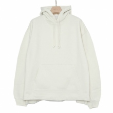 WELLDER / ウェルダー | Flutter Tail Hooded Pullover - Pearl
