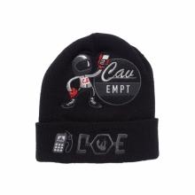 C.E / シーイー | CHARGE KNIT CAP - Black