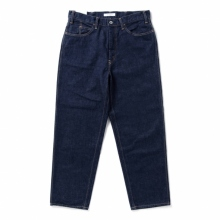 Living Concept / リビングコンセプト | 5POCKET WIDE DENIM PANTS - Indigo