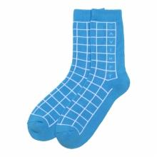 C.E / シーイー | CAVEMPT GRID SOCKS - Blue