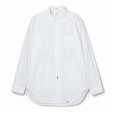 BEDWIN / ベドウィン | L/S SIDE POCKET SHIRT 「SHAW」 - White