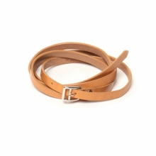 URU / ウル | LEATHER BELT - Beige