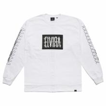 ELVIRA / エルビラ | BARBED WIRE L/S T-SHIRT - White