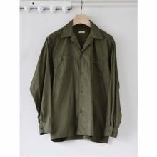 COMOLI / コモリ | オープンカラーシャツ - Olive