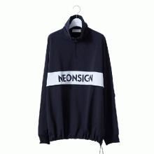 NEON SIGN / ネオンサイン | ANORAK SWEAT - Black