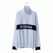 NEON SIGN / ネオンサイン | ANORAK SWEAT - Bright White