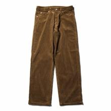 AURALEE / オーラリー | WASHED CORDUROY 5P PANTS - Brown