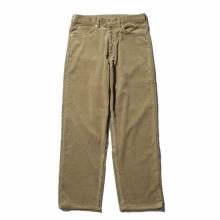 AURALEE / オーラリー | WASHED CORDUROY 5P PANTS - Light Khaki