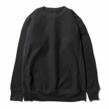 AURALEE / オーラリー | SUPER MILLED SWEAT P/O - Black