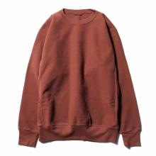 AURALEE / オーラリー | SUPER MILLED SWEAT P/O - Red Brown