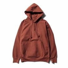AURALEE / オーラリー | SUPER MILLED SWEAT P/O PARKA - Red Brown