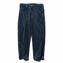 AURALEE / オーラリー | WASHED CORDUROY 5P PANTS - Dark Blue