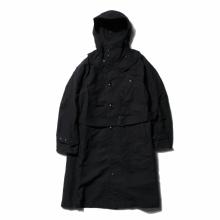 ENGINEERED GARMENTS | Riding Coat - Cotton Double Cloth - Black