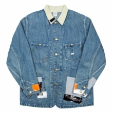 N.HOOLYWOOD / エヌハリウッド | 692-LE01-083 pieces LEE COVERALL JACKET - Blue