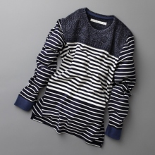 CURLY / カーリー | LS CONFUSED BORDER TEE