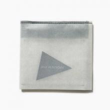 and wander / アンドワンダー | hybrid cuben fiber wallet - White