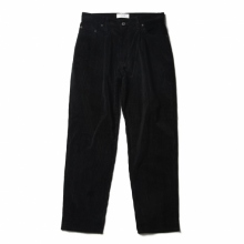 WELLDER / ウェルダー | One-Tack & Five-Pockets Tapered Trousers - Black