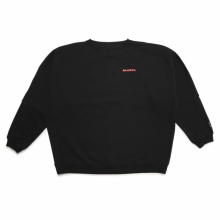 ELVIRA / エルビラ | BREAK DOLMAN SWEAT - Black