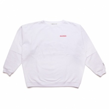 ELVIRA / エルビラ | BREAK DOLMAN SWEAT - White