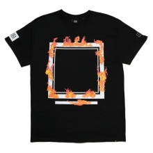 ELVIRA / エルビラ | BURNING FRAME T-SHIRT - Black