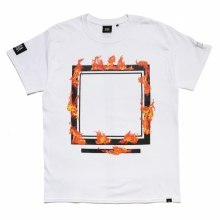 ELVIRA / エルビラ | BURNING FRAME T-SHIRT - White