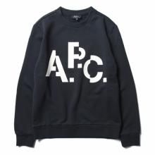 A.P.C. / アーペーセー | Décalé スウェット - Dark Navy