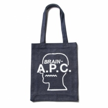 A.P.C. / アーペーセー | Brain Dead トートバッグ - White