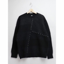 ....... RESEARCH | Frankenstein Sweater - Black