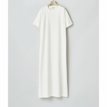 AURALEE / オーラリー | ORGANIC COTTON COMPACT JERSEY ONE-PIECE (レディース) - White