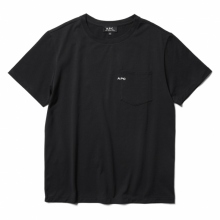 A.P.C. / アーペーセー | T-SHIRT POCKET emb S/S - Black