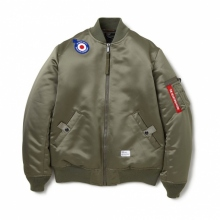 BEDWIN / ベドウィン | MA-1 JACKET 「DUFFY」 - Olive