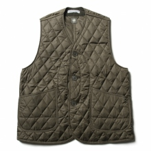 ....... RESEARCH | QUILTED HUNTING VEST - Olive