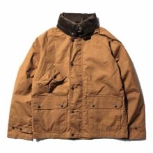 South2 West8 / サウスツーウエストエイト | South2 West8 - Carmel Jacket - Paraffin Coating - Brown