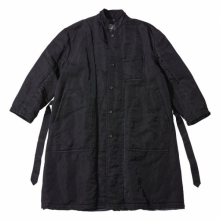 Porter Classic / ポータークラシック | SUPER NYLON COAT - Black