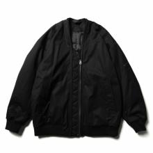 ESSAY / エッセイ | J-3 DOUBLE ZIP MA-1 - Black