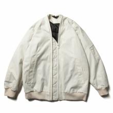 ESSAY / エッセイ | J-3 DOUBLE ZIP MA-1 - White
