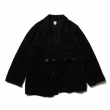 RANDT / アールアンドティー | RT Jacket - Cotton 8W Corduroy - Black