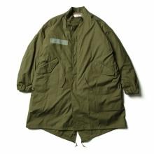 CIOTA / シオタ | スビンコットン ナイロンオックス M65 フィッシュテールパーカー - Olive