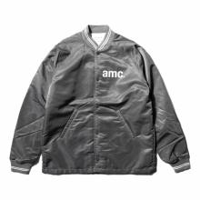 ....... RESEARCH | Coach Jacket - amc print - Gray