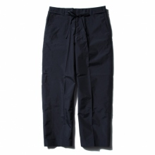 DESCENTE PAUSE / デサントポーズ | WIDE TAPERED PANTS - Navy